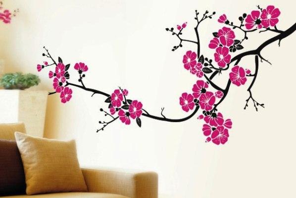 Декоративные наклейки на стены, на обои