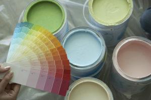 Лучшие краски для обоев