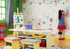Обои для детской комнаты обои-раскраска