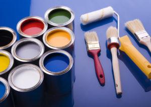 Виды красок для бумажных обоев