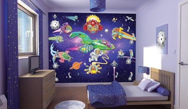 Фотообои для детской комнаты для мальчика