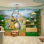 Фотообои герои мультфильмов в детскую комнату девочки