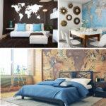 Фотообои карты мира в интерьере фото