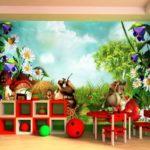 Фотообои природа и звери для комнаты мальчика