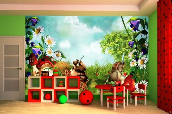 как выбрать фотообои для детской комнаты для мальчика фото советы
