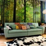Фотообои природа в гостиную