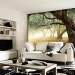 Фотообои природа в гостиную 2