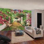Фотообои природа в гостиную 3