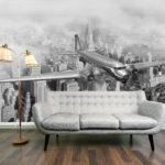 Фотообои в гостиной интерьесные сюжеты