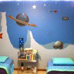 Гладкие фотообои для детской комнаты девочки (косомос)