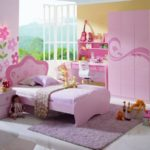 Обои для детской комнаты девочки розовые