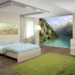 Фотообои природа на стену: лес, пустыни, горы (фото в интерьере)